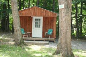 Spruce Row Campground Cabins Rentals